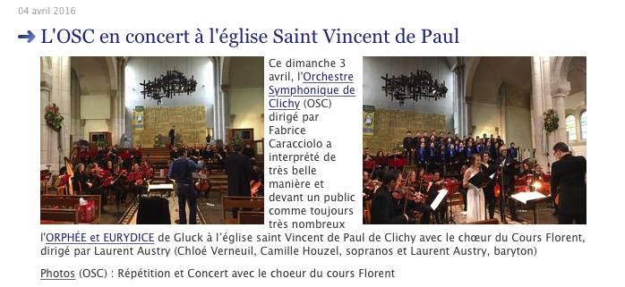 2016-03 - Article Presse - Clichy Evenements