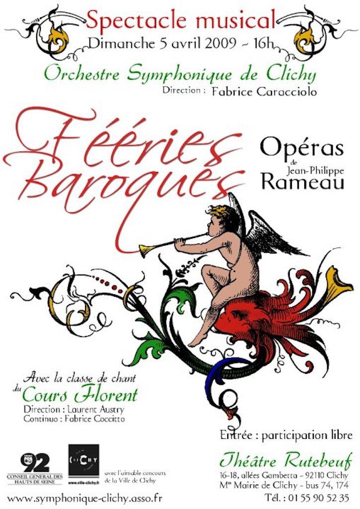 OSC - Spectacle Musical - RAMEAU - Fééries baroques