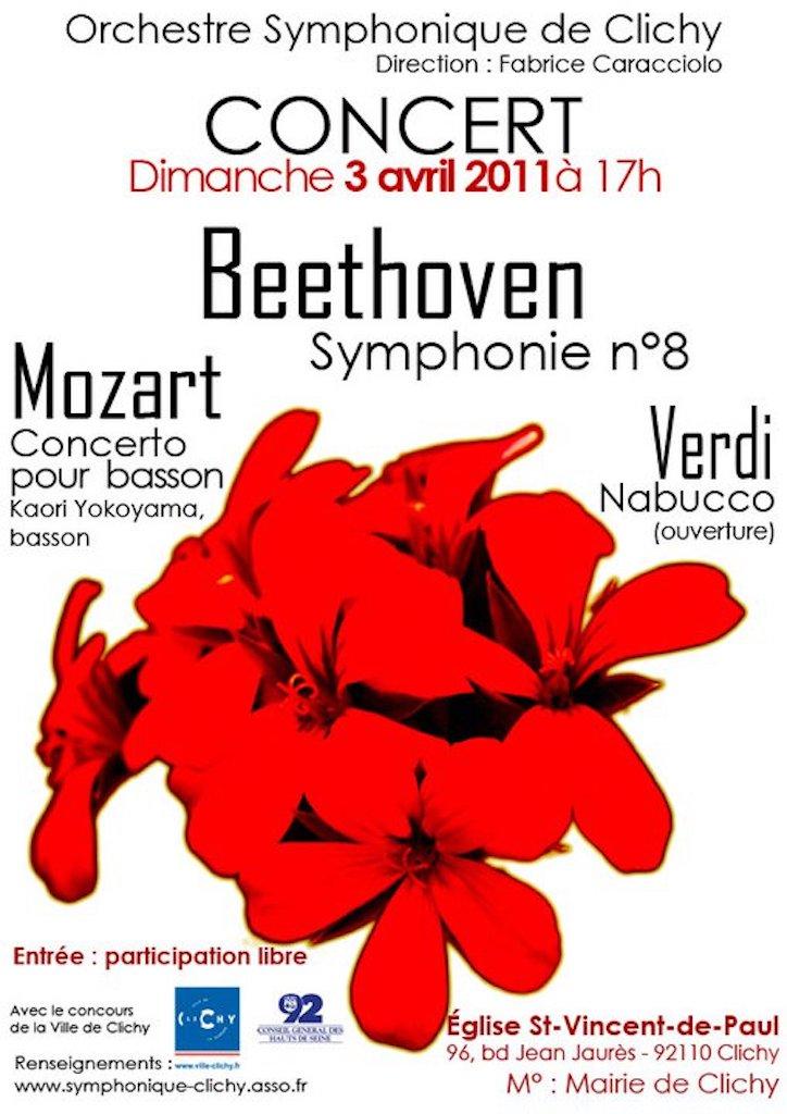 OSC - Concert - 01 avril 2011 - Verdi, Mozart, Beethoven