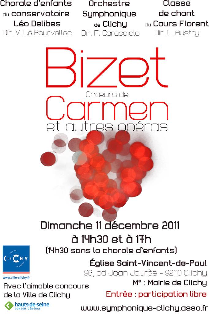 OSC - Concert 11 Dec 2011 - Bizet : Carmen et autres opéras