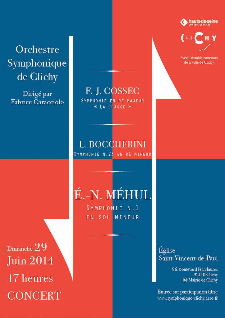 OSC - Concert 29 Juin 2014 - Gossec, Boccherini, Méhul