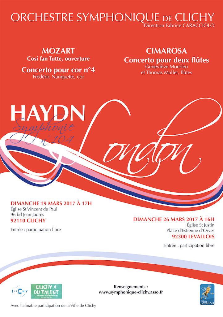 OSC - Concert 19 Mars 2017 - Mozart, Cimarosa, Haydn