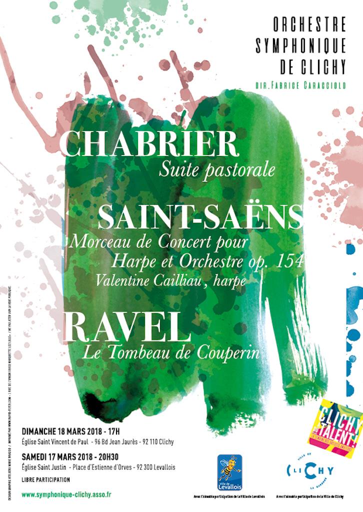 OSC - Concert : Chabrier, Saint-Saens, Ravel