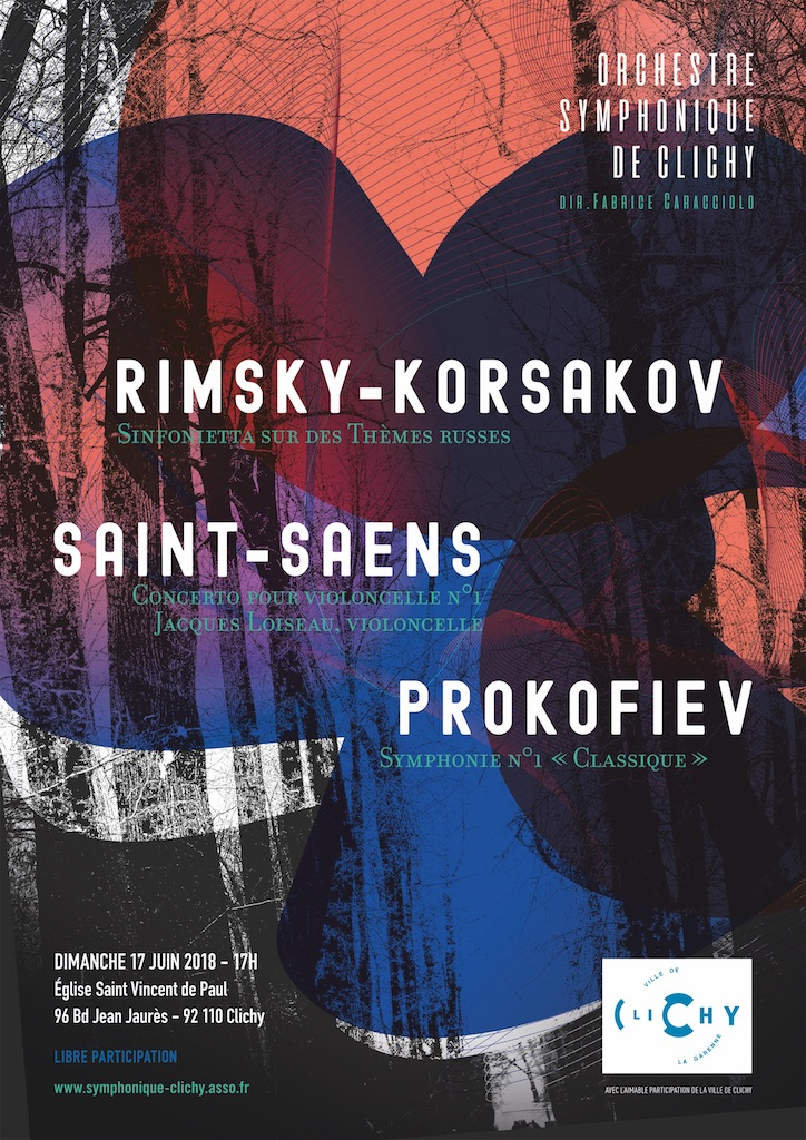 OSC - Concert : Rimsky-Korsakov, Saint-Saëns, Prokofiev