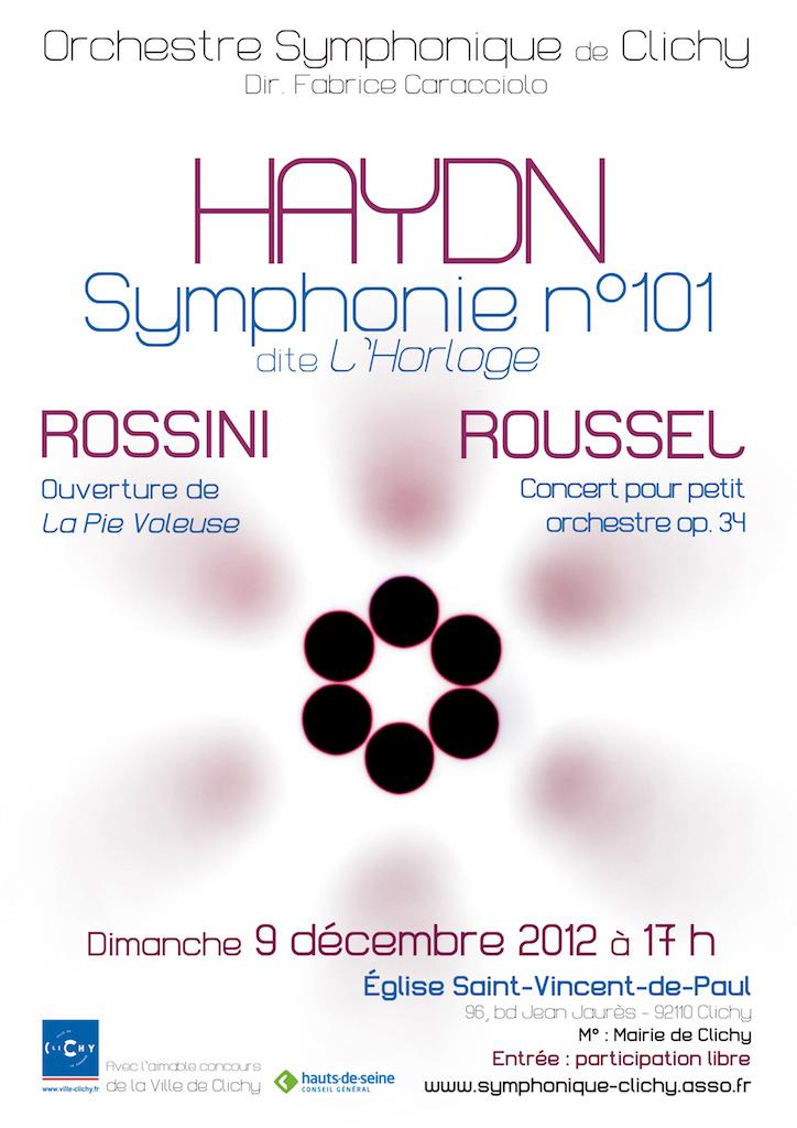 OSC - Concert - 09 Dec 2012 - Rossini, Roussel, Haydn