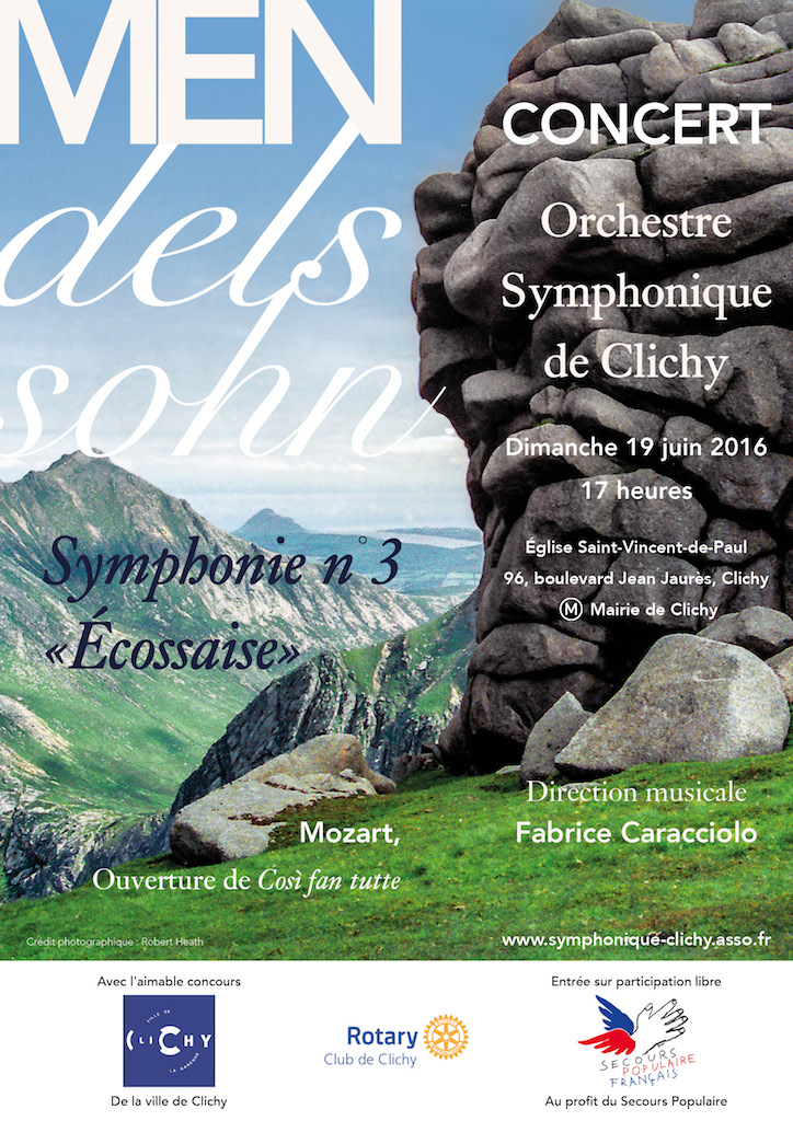 OSC - Concert 19 Juin 2016 - Mozart, Mendelssohn