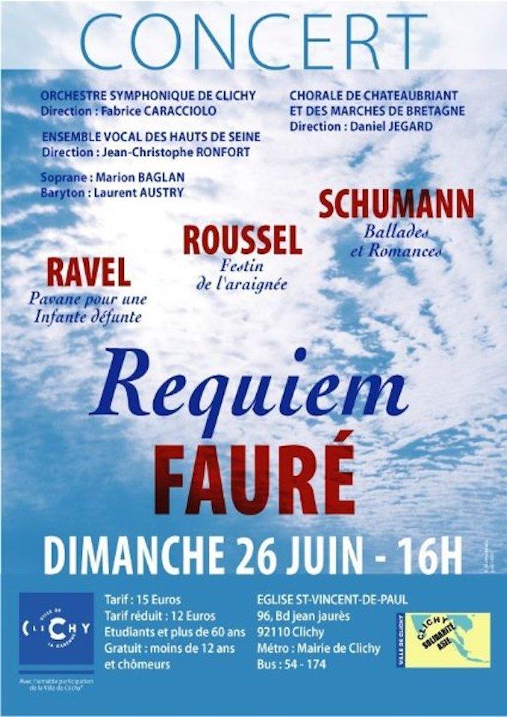 OSC - Concert - 26 Juin 2005 - SCHUMANN, ROUSSEL, RAVEL, FAURE