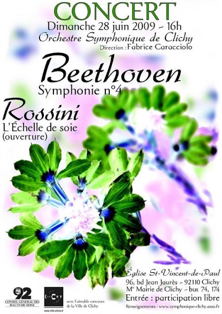 OSC - Concert - 28 Juin 2009 - BEETHOVEN, ROSSINI