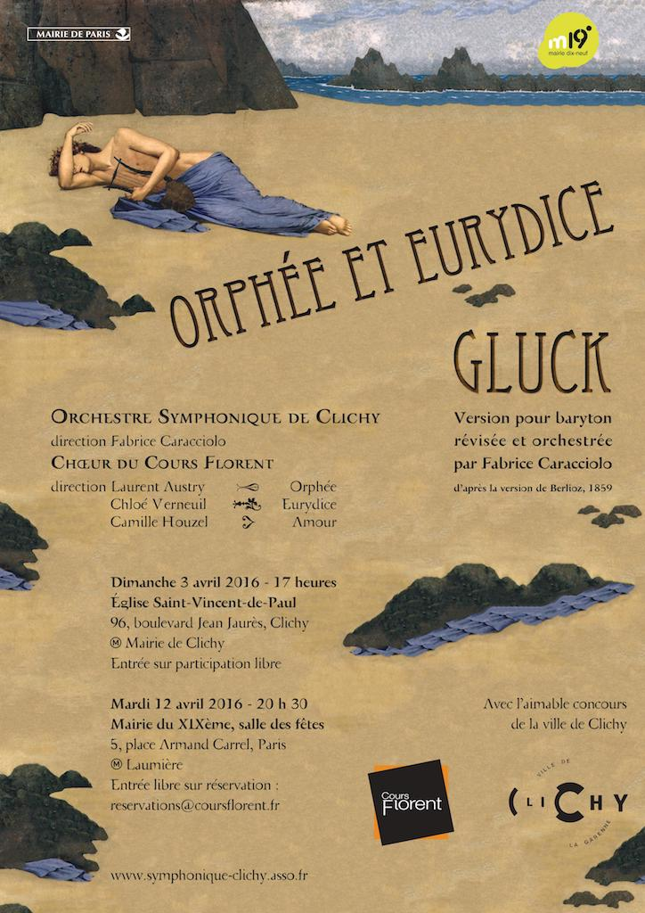 OSC - Concert 3 Avril 2016 - Gluck - Orphée et Euridice