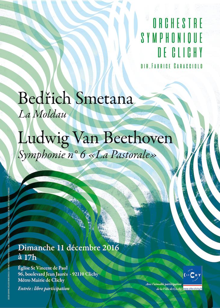 OSC Concert 11 dec 2016 - Smetana et Beethoven
