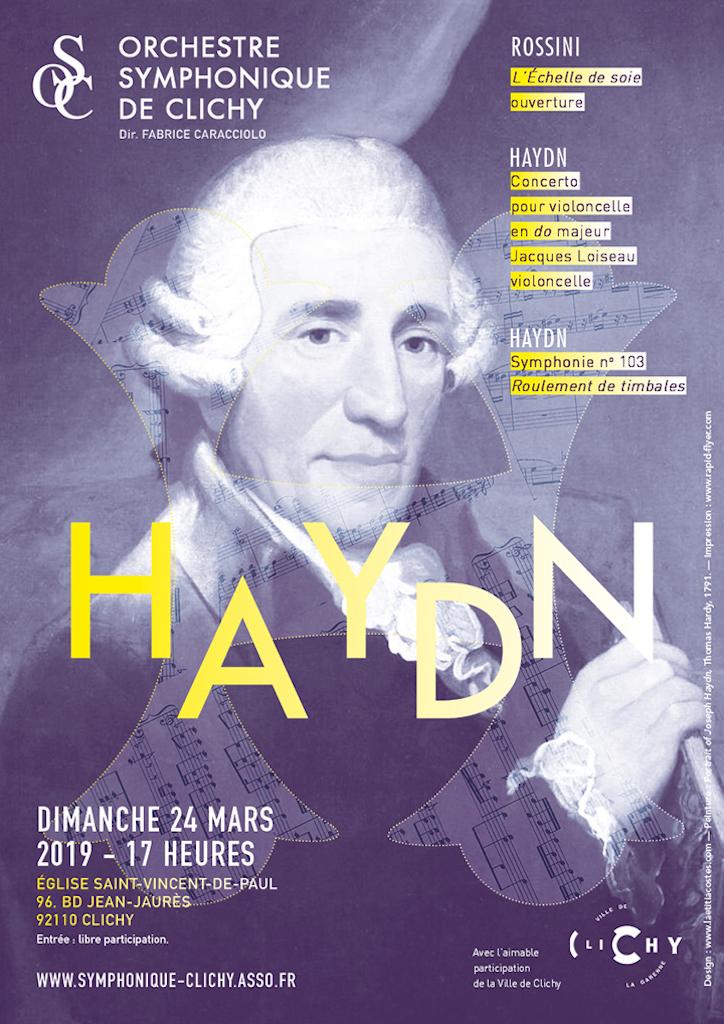 OSC - Concert : HAYDN, ROSSINI