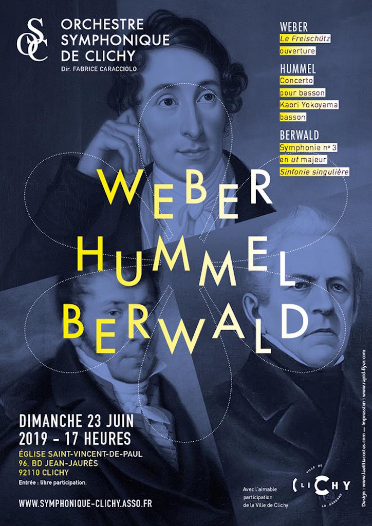 OSC : WEBER, HUMMEL, BERWALD